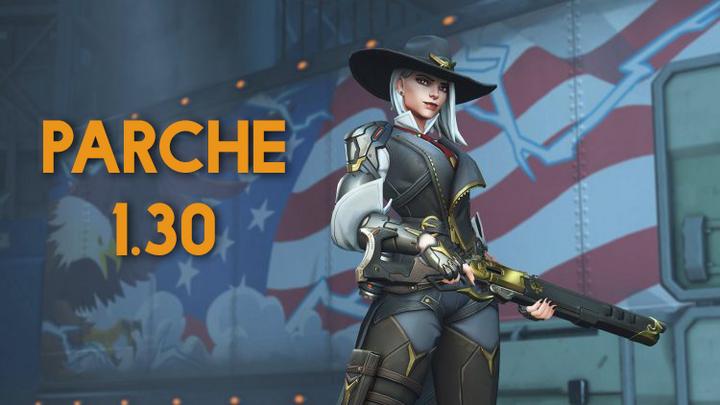 El parche 1.30 de Overwatch trae a Ashe, la nueva herína de daño.