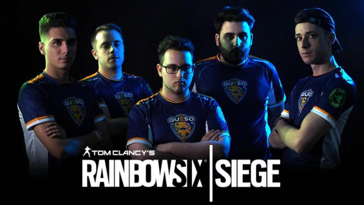 Team Queso entra en Rainbow Six Siege.