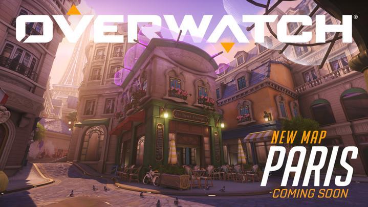 París, el nuevo mapa de Overwatch.